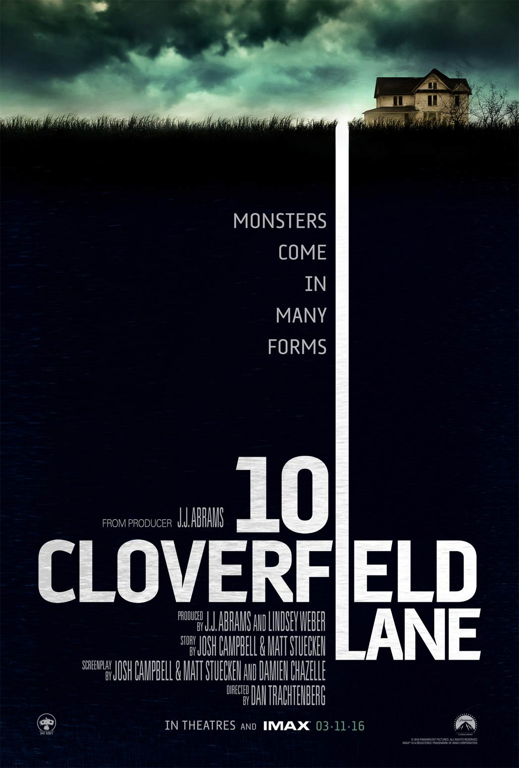 At The Matinee #001: 10 Cloverfield Lane