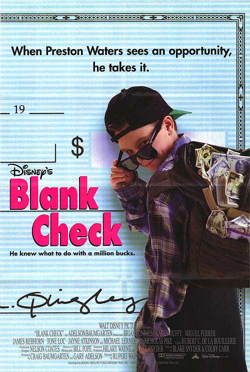 Episode 012 - Blank Check Poster